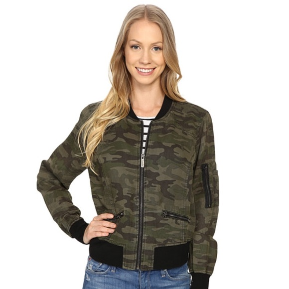 Sanctuary Jackets & Blazers - Sanctuary Camo Bomber Jacket